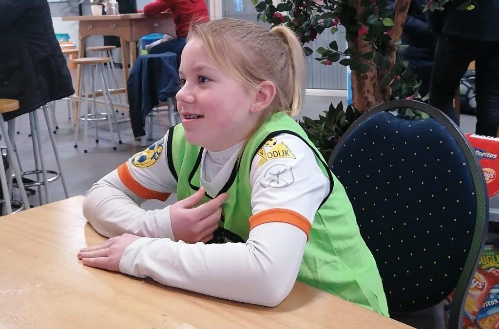 Onze S.V.O. topper Dani uitgenodigd voor de KNVB